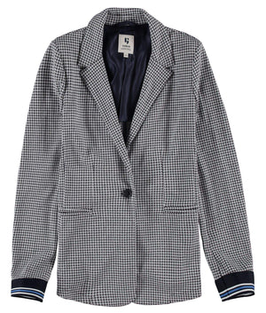 Check Garcia Suit Jacket