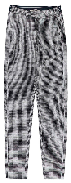 Check Garcia Trousers with Elasticated Waist