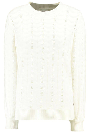 White Knitted Garcia Sweater
