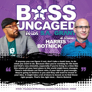 Harris on Boss Uncaged with S.A. Grant