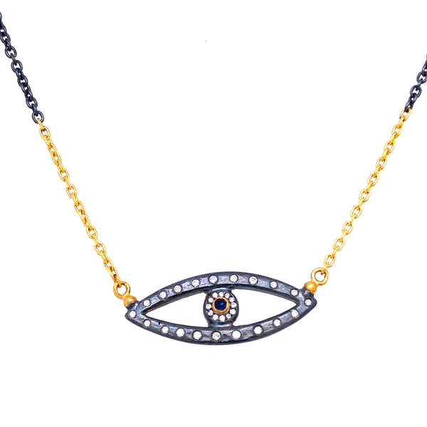 Lika Behar Evil Eye Necklace
