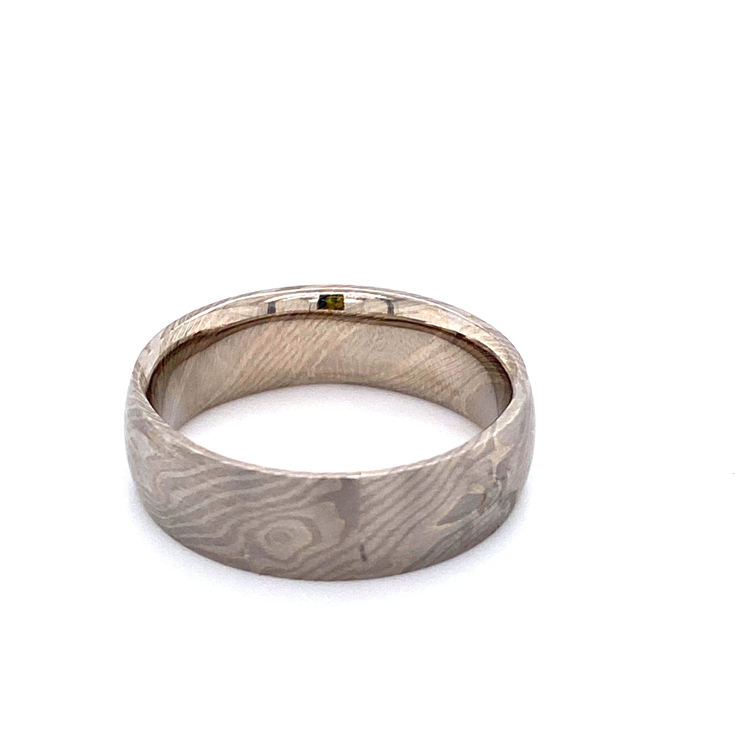 Chris Ploof Mokume Gane Birich Pattern Band