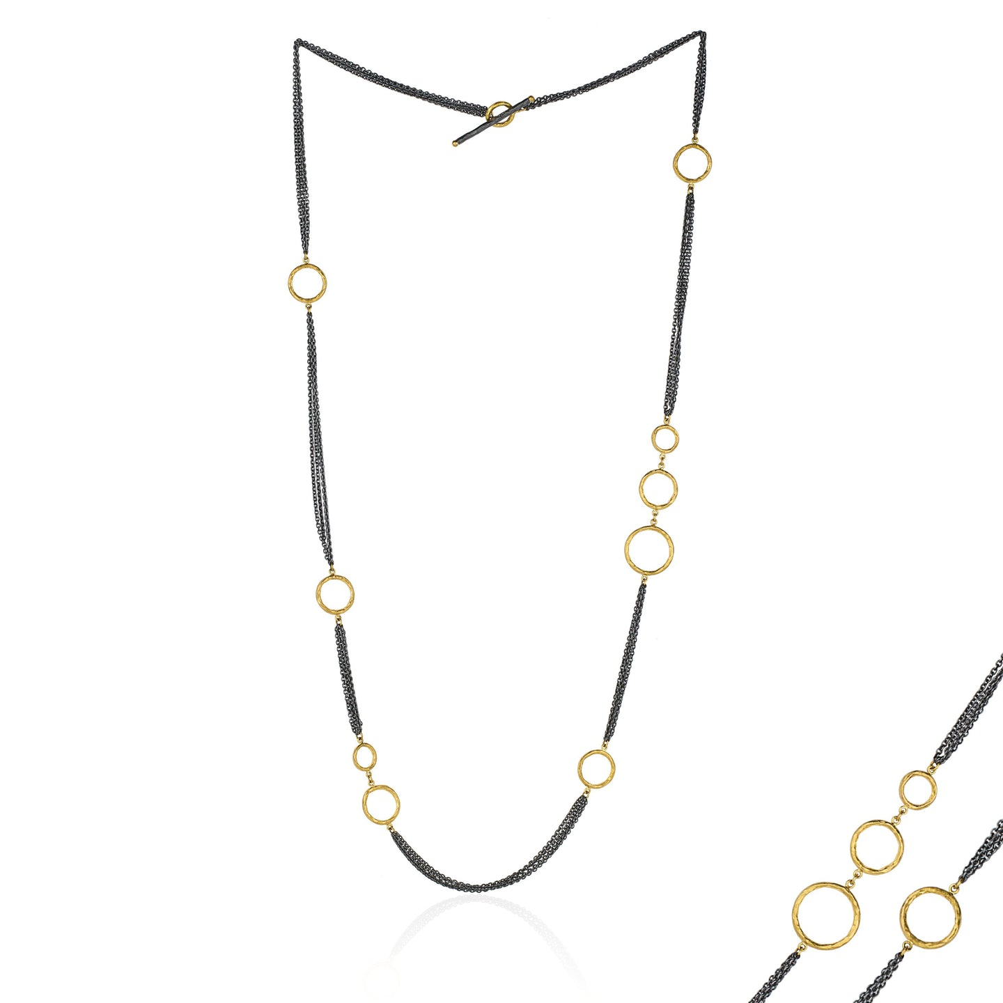 Lika Behar Necklace with Asymmetrical Details