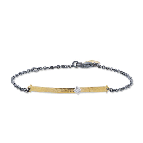 Lika Behar Bracelet with Princess Cut Diamonds