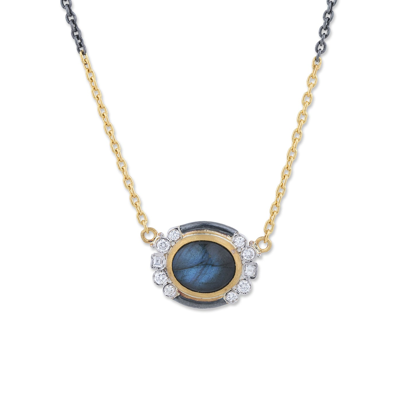Lika Behar Two-Tone Labrabdorite Necklace