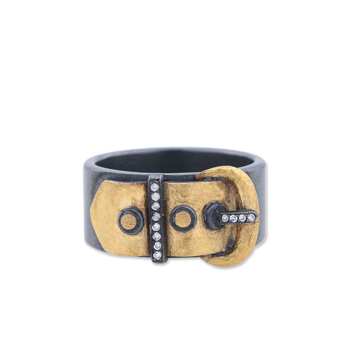 Lika Behar Deco Buckle Ring