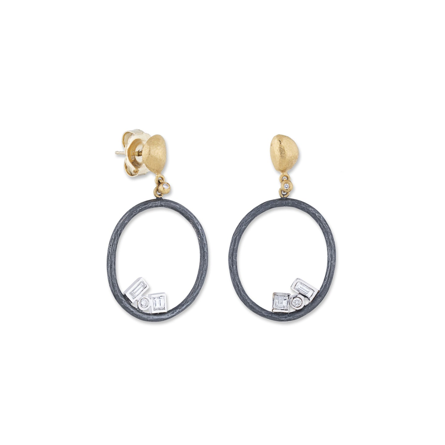 Lika Behar Open Round Earrings