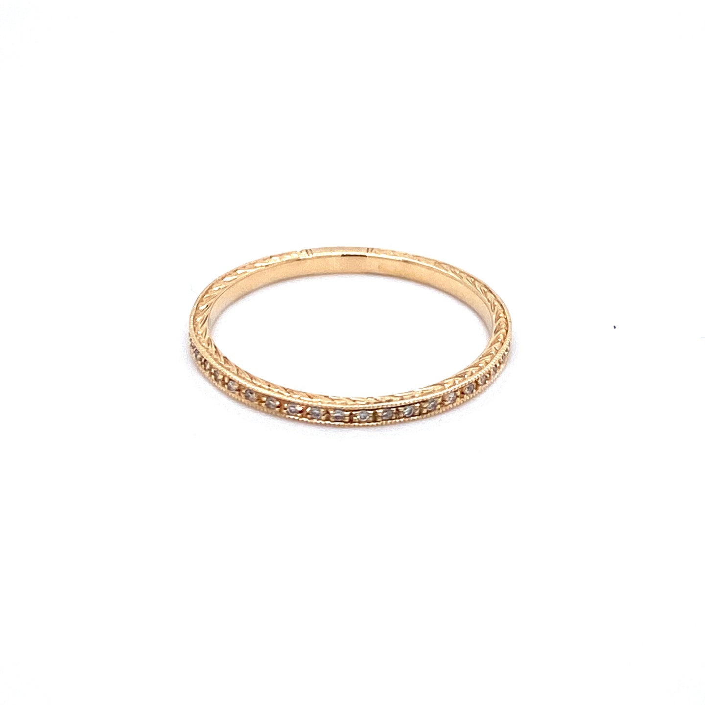 Diamond Pave Band
