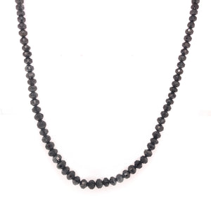 59ct Black Diamond Strand