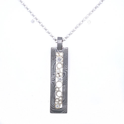 BB x CP Long Rectangle Necklace