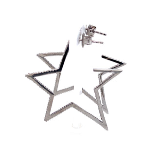 Open Star Hoops