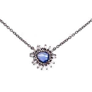 Tanzanite & Diamond Necklace