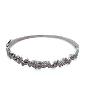 Diamond Stick Bangle