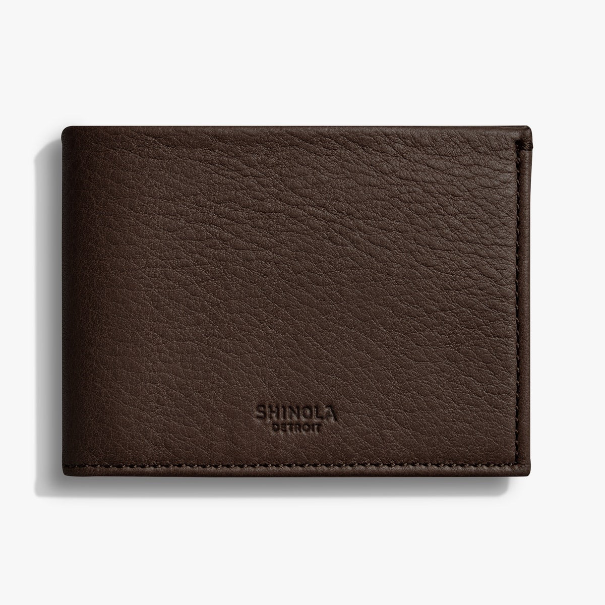 Shinola Brown Leather Wallet