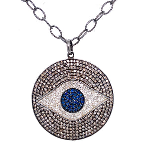 XL Evil Eye Pendant