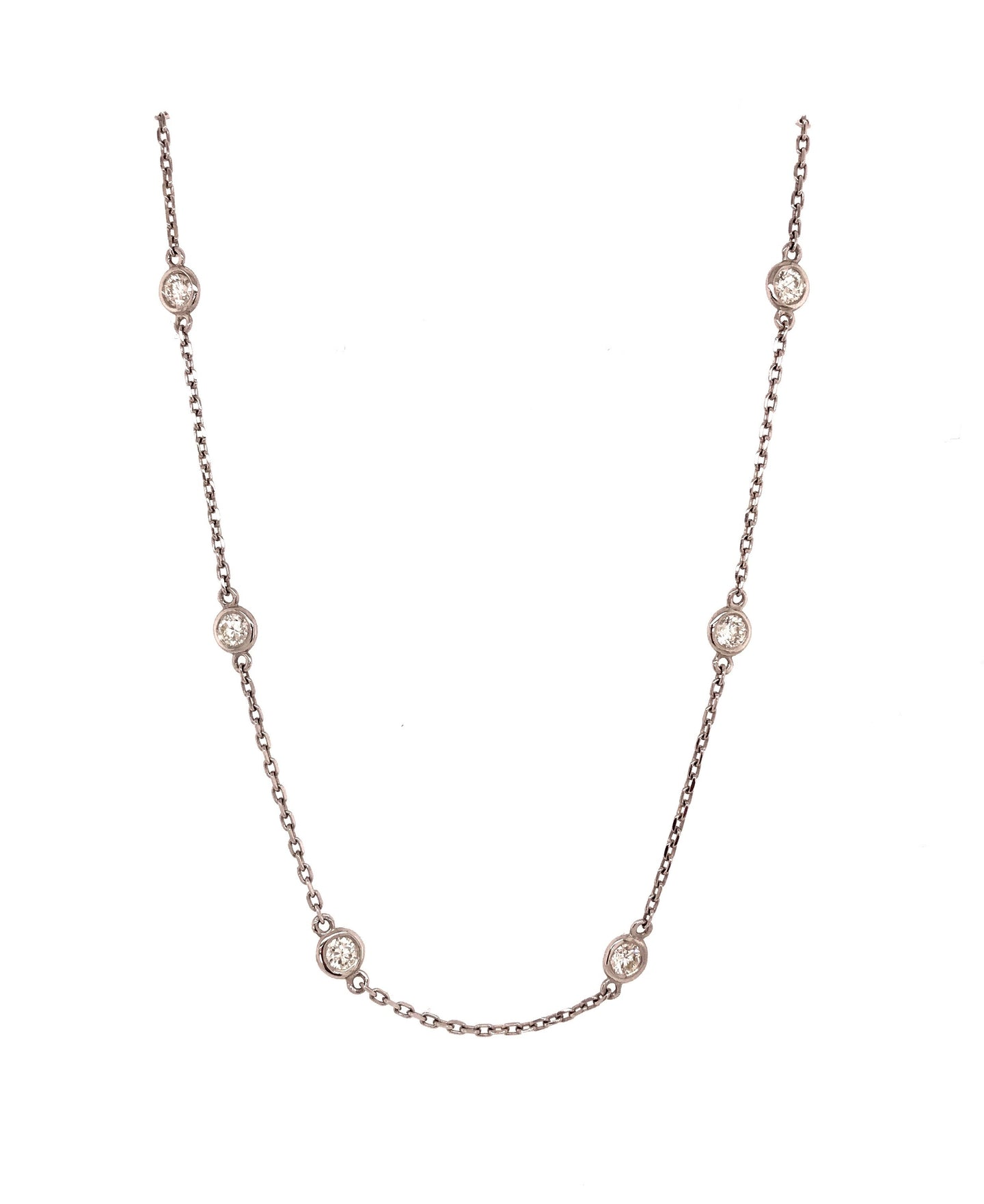 1.50ct Diamonds by the Yard Necklace