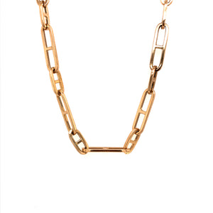 Anchor Link Chain Necklace
