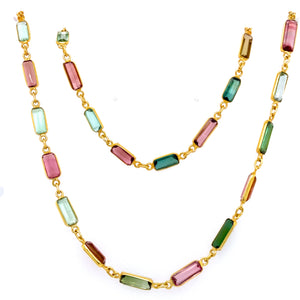 Assorted Tourmaline Necklace
