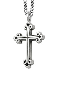 King Baby Medium Traditional Cross Necklace