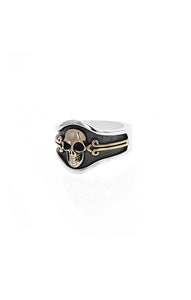 King Baby Skull Cigar Band
