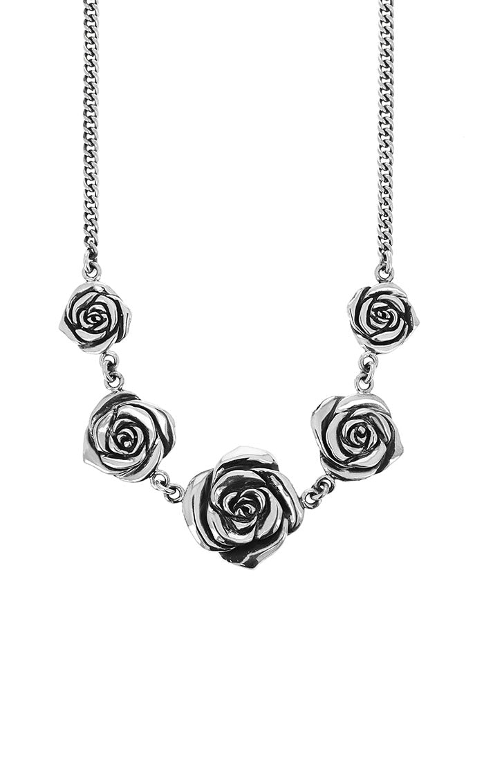 King Baby 5 Rose Necklace
