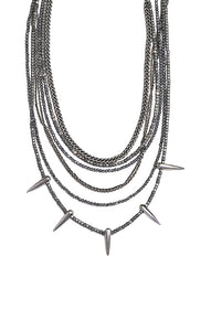 King Baby Multi Strand Layered Necklace