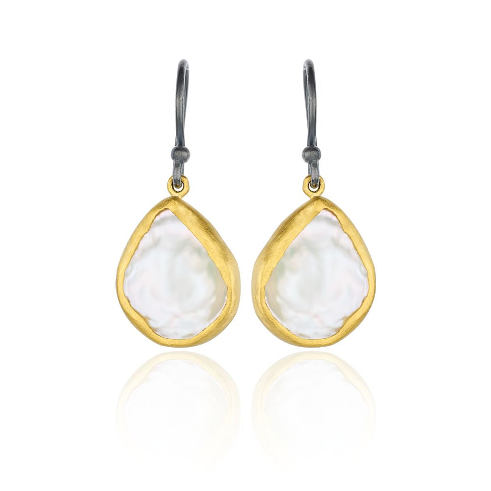 Lika Behar Keshi Pearl Drop Earrings