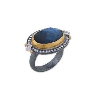 Lika Behar Faceted Labradorite Ring