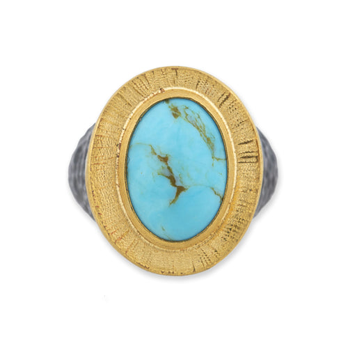 Lika Behar Turquoise Cocktail Ring