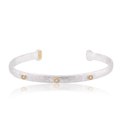 Lika Behar Cuff with Diamonds