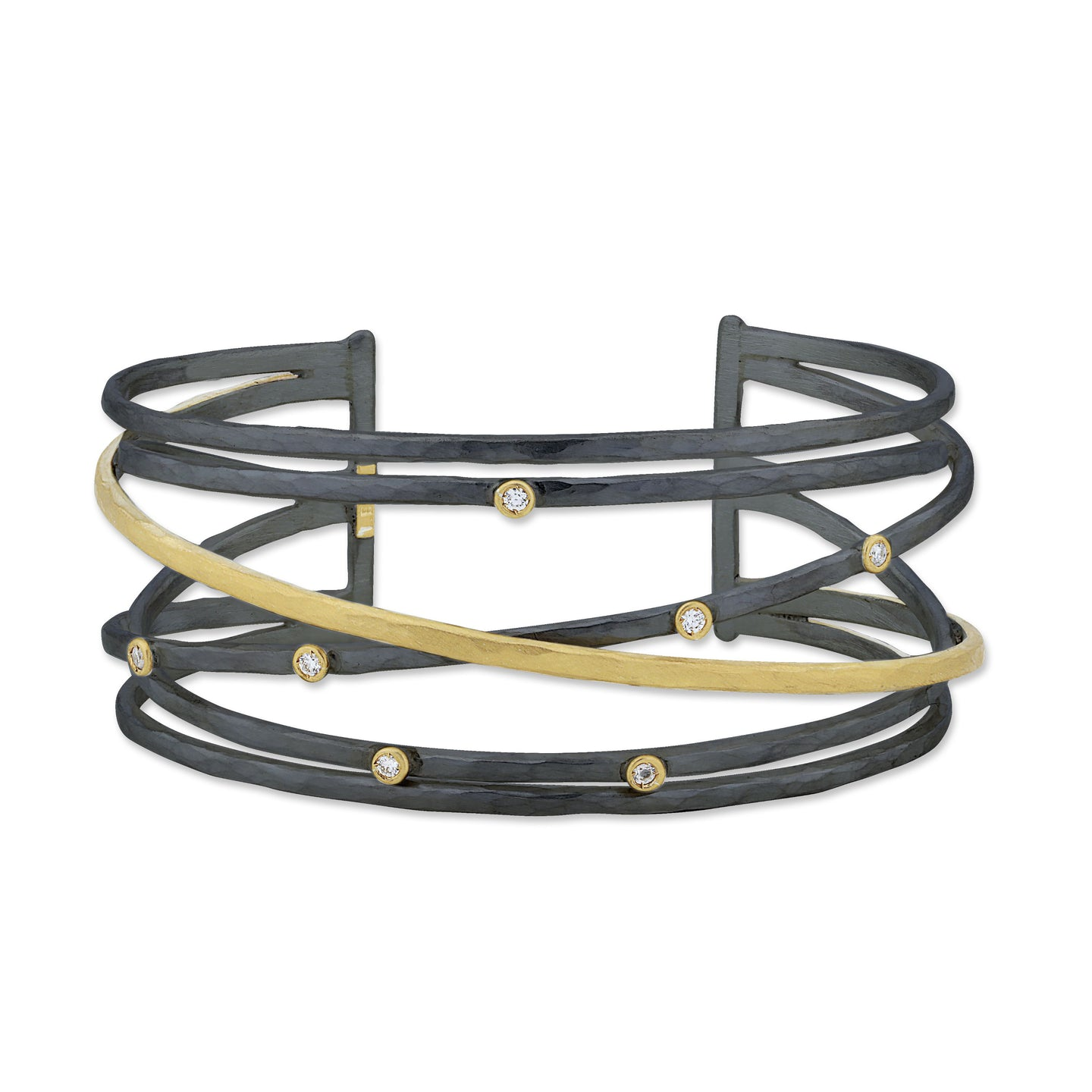 Lika Behar Oxidized Multi-Wire Cuff