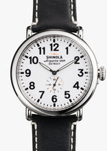 THE RUNWELL 47MM White Dial on Black Strap
