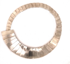 Mariella Pilato Plates Collar Necklace