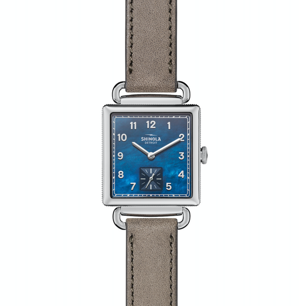 Shinola Guardian (Midnight Blue Dial+Cognac Strap)