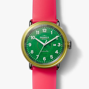 "Shinola ""The Gummy Worm"" Detrola, 43mm"