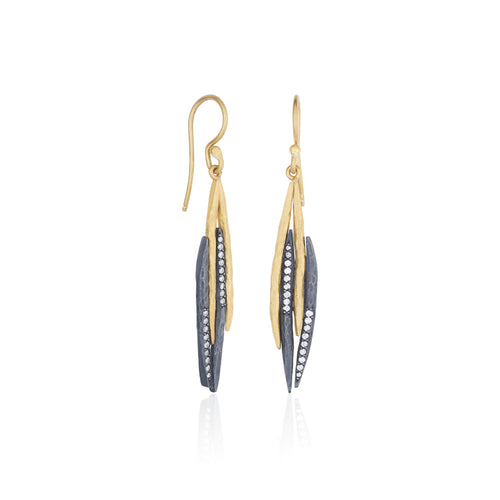 Lika Behar Zebra Earrings