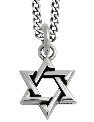 King Baby Star of David Necklace