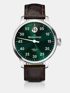 Meistersinger Salthora META Jumping Hour 40mm