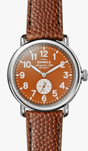 THE RUNWELL 41MM Orange Dial on Orange Football Strap