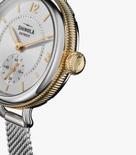 Ladies Shinola Watch - The Birdy Sub Second Hand 34mm