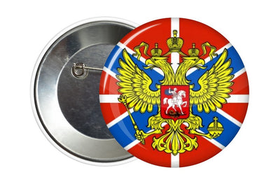 BADGE PIN BUTTON NOVOROSSIA NOUVELLE RUSSIE DONETSK - RUSSIAFR