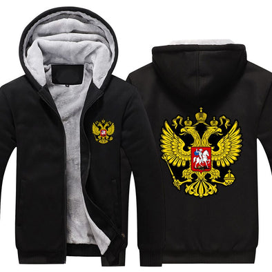 SWEAT A CAPUCHE EMBLEME RUSSIE URSS - RUSSIAFR