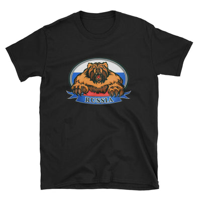 T-SHIRT RUSSIA BEAR RUSSIE - RUSSIAFR