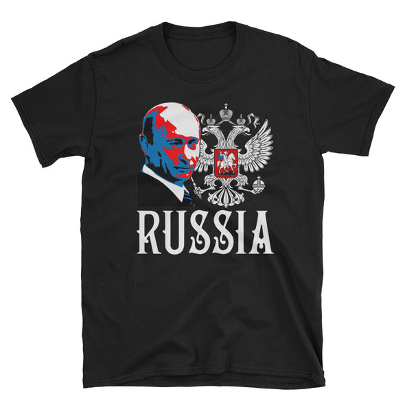 T-SHIRT VLADIMIR POUTINE RUSSIA RUSSIE - RUSSIAFR