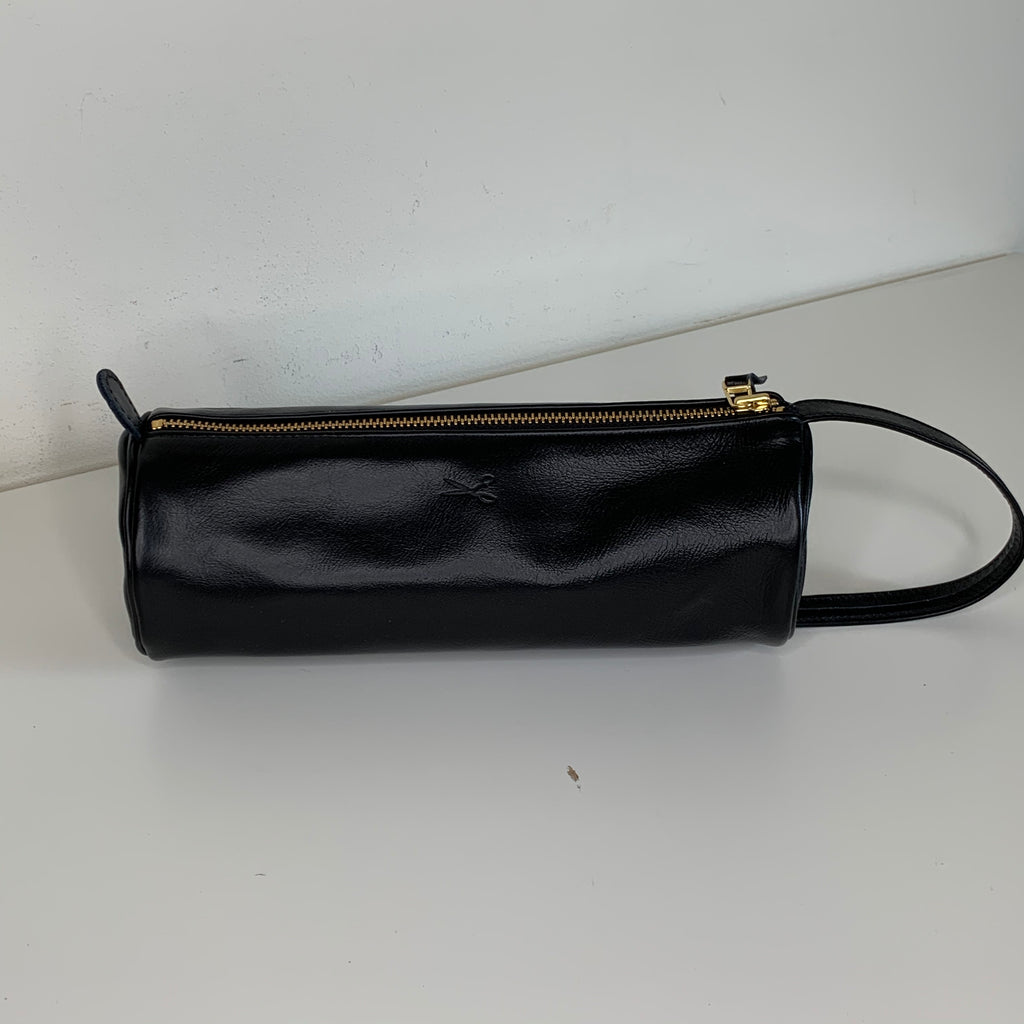 Large Signature Leather Pouch