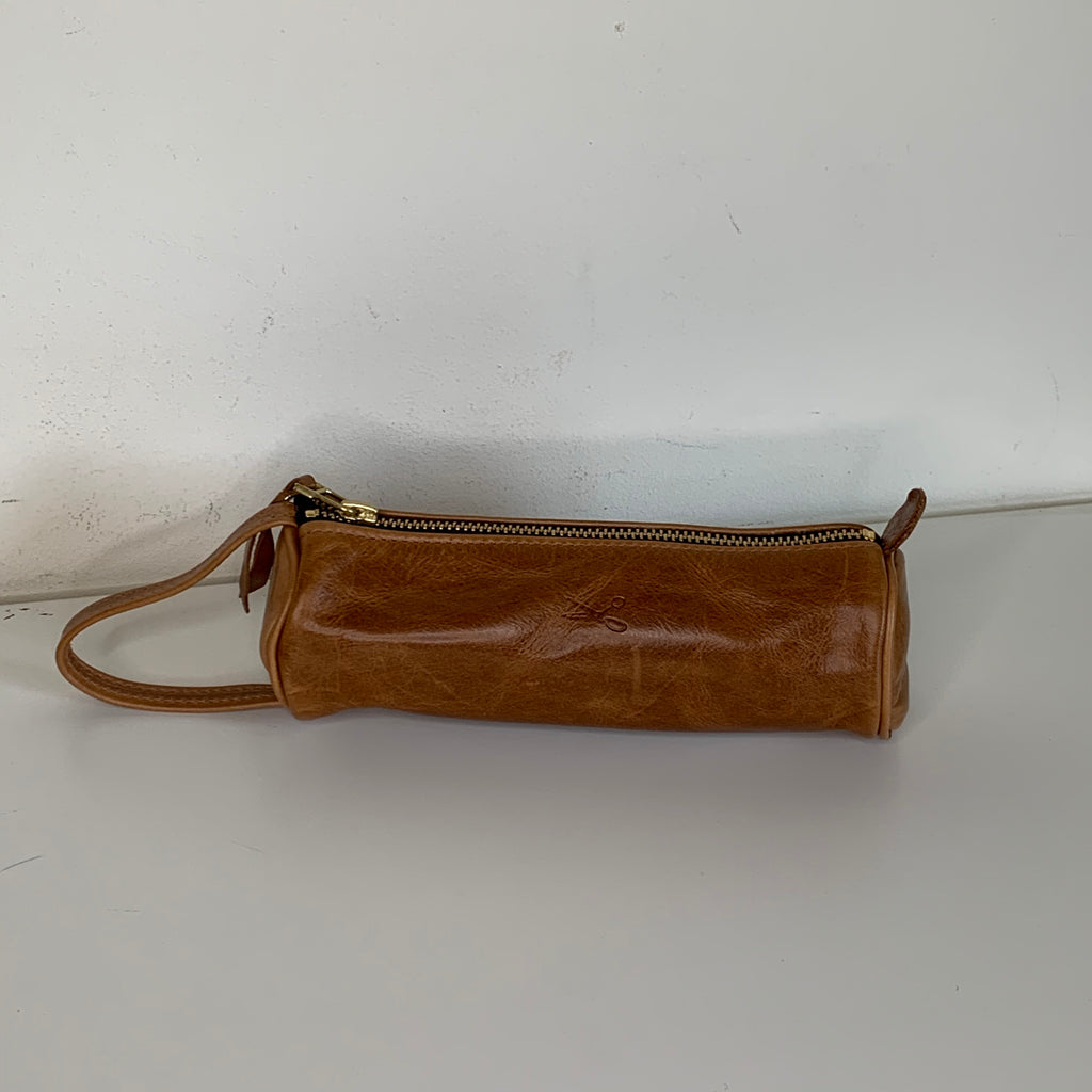 Small Signature Leather Pouch