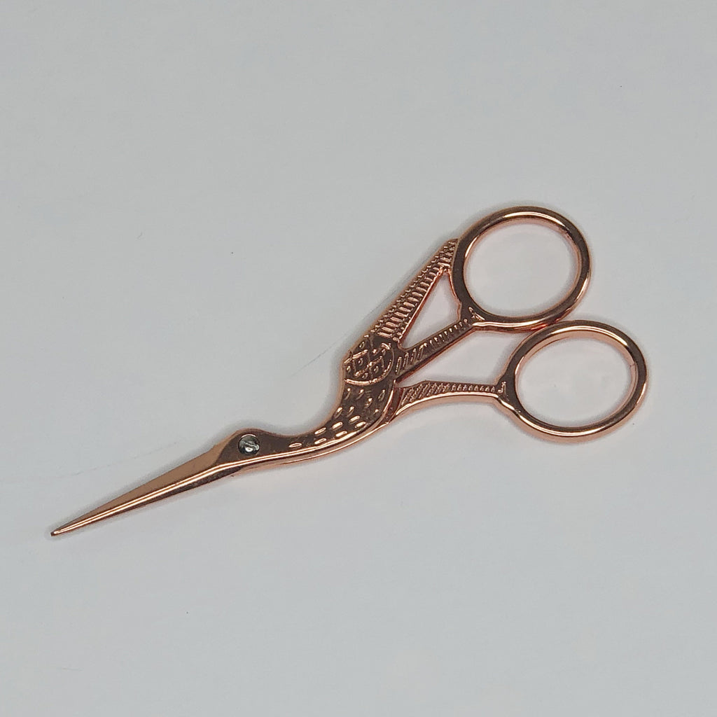 Tacony - Rose Gold Stork Scissors