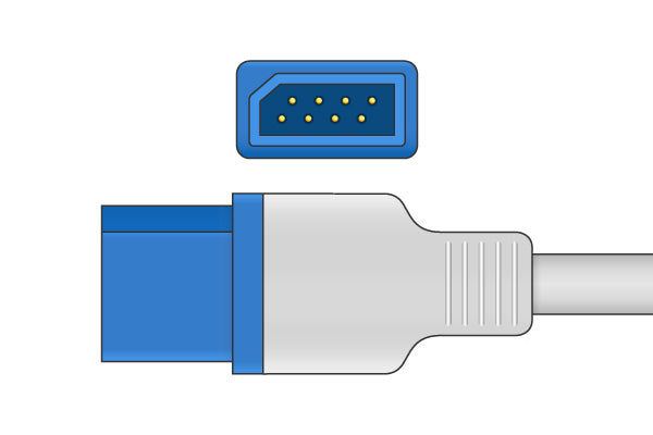 Medica D Compatible Direct-Connect SpO2 Sensor