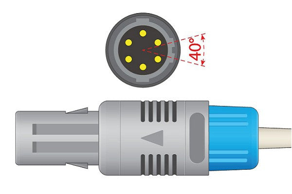 Sonoscape Compatible Direct-Connect ECG Cable