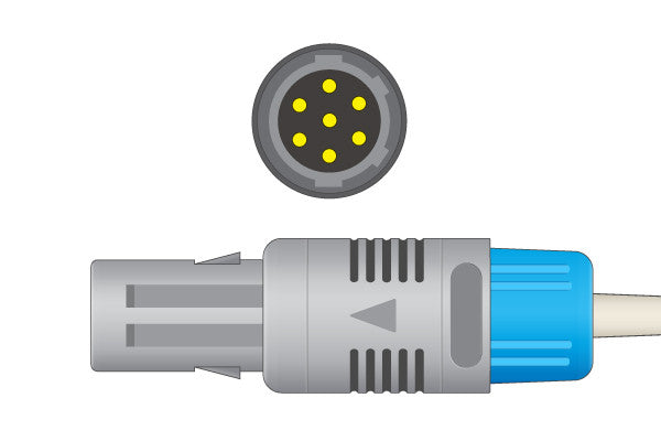 GE Healthcare Compatible Direct-Connect ECG Cable